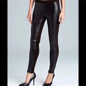 Victoria's Secret Women's Faux Leather Front Pants